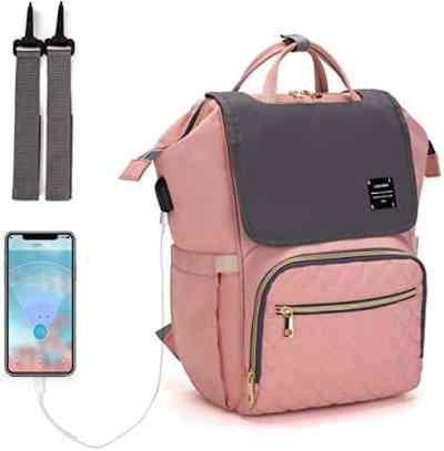 Amazon: Diaper Bag Backpack for $21.49 (Reg.Price $42.99)
