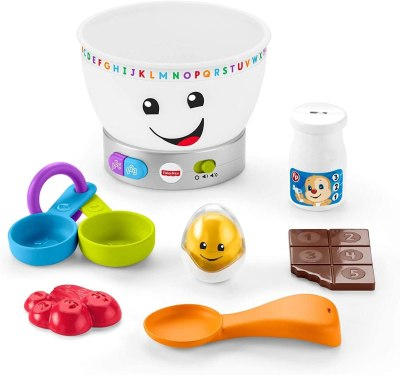 Amazon: Fisher-Price Laugh & Learn Magic Color Mixing Bowl, Just $13.99 (Reg $19.99)