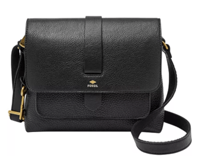 Macy's: Fossil Kinley Small Leather Crossbody for $38.40 (Reg. Price $138.00)