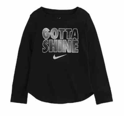 """Kohl's: Toddler Girl Nike Long Sleeve """"Gotta Shine"""" Graphic Tee JUST $10 (Reg $20)"""