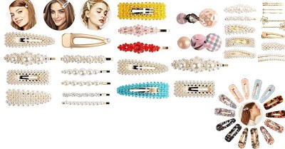 Amazon: 14pcs Resin-Hair-Clips for Women Hair Barrettes $3.6 ($12)