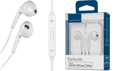 Best Buy: Insignia Wired Earbud Headphones $9.99 (Reg $20) – Today Only!