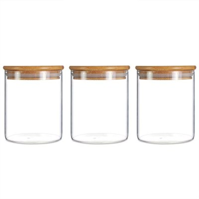 Amazon: Kitchen Food Containers With Bamboo Lid For $18.99 (Was $35)