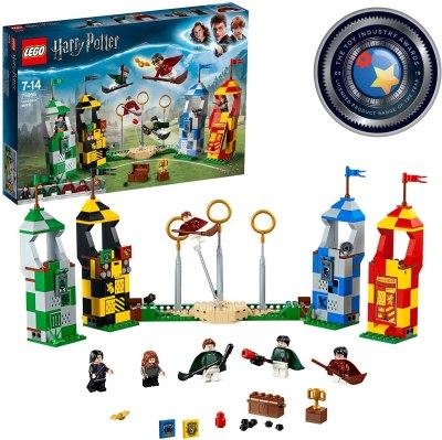 Amazon: LEGO Harry Potter Quidditch Match Building Set Only $42.72 (Reg. $65)