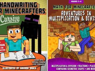 Amazon: Minecraft Kids' Workbooks Starting at $4.99 (Regularly $8)