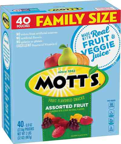 Amazon: 40 Count Mott's Fruit Snacks, Just $5.25