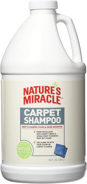 Amazon: Nature's Miracle Carpet Shampoo 64oz Bottle Only $4.92 (Reg. $15)