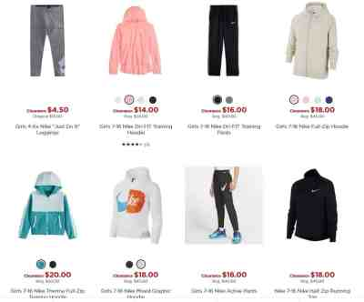 Kohl's: Nike Items for the Family, Up to 70% off!!