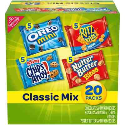 Amazon: 20 Packs Nabisco Classic Mix Variety Pack ONLY $6.63