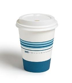 Staples: Perk™ Paper Cup & Lid Combo, 12 Oz., White/Blue, 50/Pack For $5.99 (Reg. $9.99)
