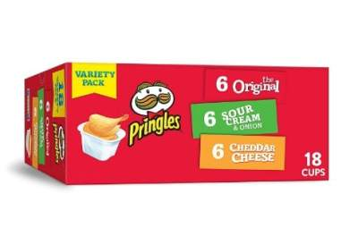 Amazon: Pringles Flavored Variety Pack Potato Crisps ONLY $6.36