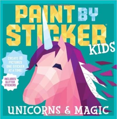 Amazon: Unicorns & Magic Paperback – Sticker Book for $3.99 (Reg.Price $9.95)