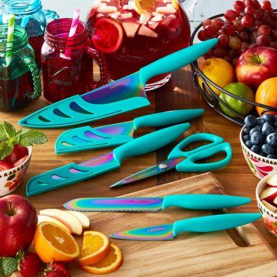 Walmart: Farberware 11 Piece Purple Rainbow Titanium Cutlery Set $18.98 - $19.83 (Reg $34.99)