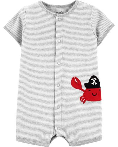 Carter's: Crab Snap-Up Romper $7 (Was $16)