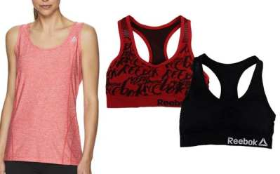 Proozy: Reebok Bralette and Tank Bundle for JUST $17.99 (Regularly $65)