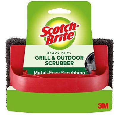 Amazon: 3M Scotch-Brite Heavy Duty Grill & Outdoor Scrubber Now $3.96 ($11.26)