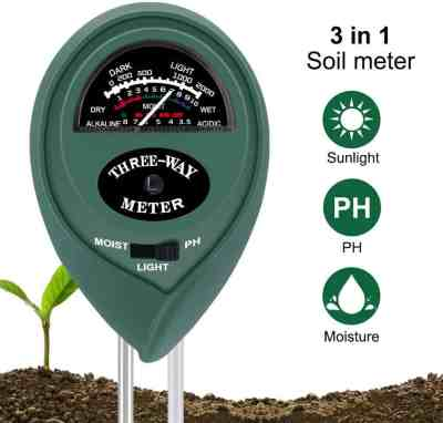 Amazon: 3-in-1 Soil Moisture Light pH Testing Kits Soil Moisture Sensor $7.2 (Reg. $16)