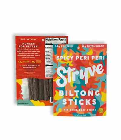 Amazon: Stryve Biltong Beef Mini Sticks for $9.89 Shipped! (Reg. Price $13.99)