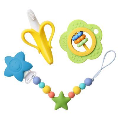 Amazon: 56% OFF on Baby Teething Toy Set, BPA-Free