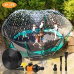 Amazon: Outdoor Trampoline Water Sprinkler For $13.99 (Reg. $25.99)