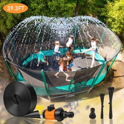 Amazon: Outdoor Trampoline Water Sprinkler For $13.99 (Reg. $25.99)