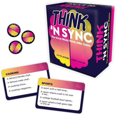 Amazon: Think 'N Sync Card Game Only $9.95 (Reg. $40)