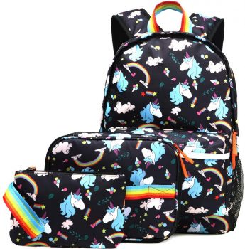Amazon: 3Pc Unicorn Backpack, Lunchbox, and Pencil Pouch $17.99 (Reg. $35.99)