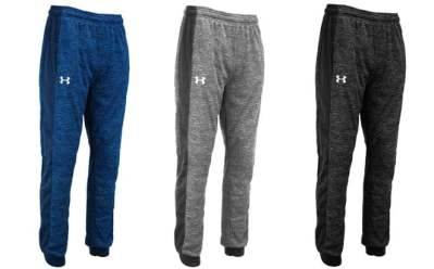 Proozy: Under Armour Men's Fleece Twist Joggers ONLY $19 at (Regularly $55)
