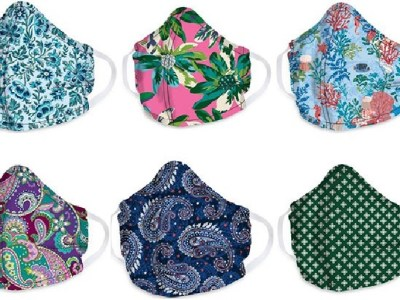 Vera Bradley: Vera Bradley Cotton Face Masks for $8 Shipped (New Styles In Stock!)