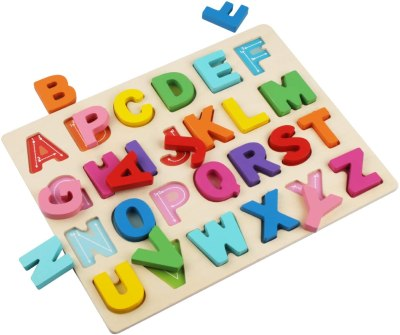 Amazon: Wooden Alphabet Puzzle for $6.99 Shipped! (Reg. Price $13.99)