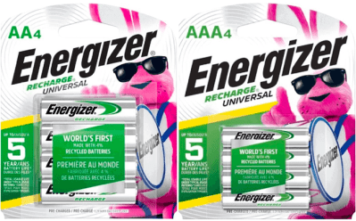 Best Buy: Energizer Rechargeable Batteries 4-Pack for ONLY $6 (Regularly $12)