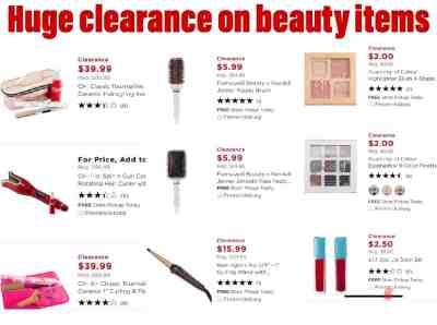 Huge Clearance on Beauty Items!!(Kohl's)