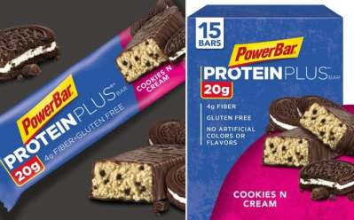 Amazon: PowerBar 15-Count Protein Plus Bar in Cookies n Cream ONLY $10.74 (Reg $16)