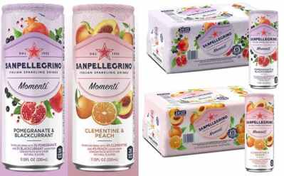 Amazon: San Pellegrino Momenti Cans 24-Count From ONLY $14.90 (Reg $22)