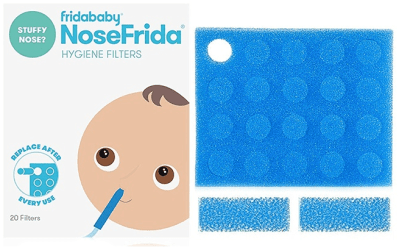 Amazon: FridaBaby Nasal Aspirator Filters 20-Pack ONLY $1.25 (Reg $5) – Best Price!
