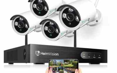 Woot: HeimVision Wireless Security 4-Camera System ONLY $149 (Reg $200)