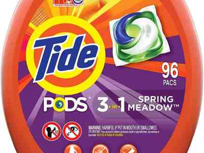 Amazon: Household Essentials Tide Pods 96-Count Just $21.44 (Reg. $23.99)