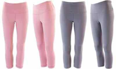 Proozy: 90 Degree by Reflex Hi-Rise Basic Capri Leggings ONLY $11 Each (Regularly $78)
