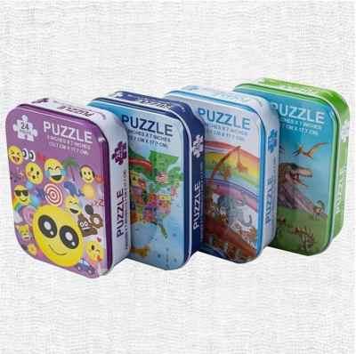 Jane: Assorted 24 Piece Puzzles Set (4-Pack), Just $7.99 (Reg $39.99)