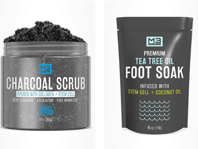 Amazon: 30% OFF on M3 Naturals Body Scrubs