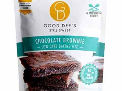 Amazon: 12 Serving Good Dee's Brownie Mix – Low carb, Keto Brownies for $8.00 (Reg. $12.75)