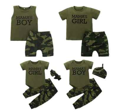 Amazon: Baby Boy Girl Camouflage Outfit for $8.99 (Reg. Price $17.99) at checkout!