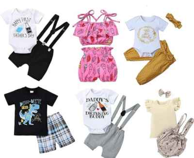 Amazon: Baby Boy Girl Outfit for $4.49-$11.49 (Reg. Price $8.99-$22.99) at checkout!