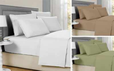Jane: Bamboo Solid Sheet Sets ONLY $24.99 + FREE Shipping (Regularly $110)
