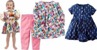 Amazon: BrightyKid Newborn Baby Girl Clothes Outfits Dress Pants Set $3.3-$7.49 (Reg $18)