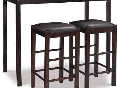 Amazon: Brown 3-Piece Table Faux Marble Tavern Set for $94.75 (Reg. Price $157.00)