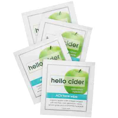 Amazon: Apple Cider Vinegar Acne Face Wipes For $12.00