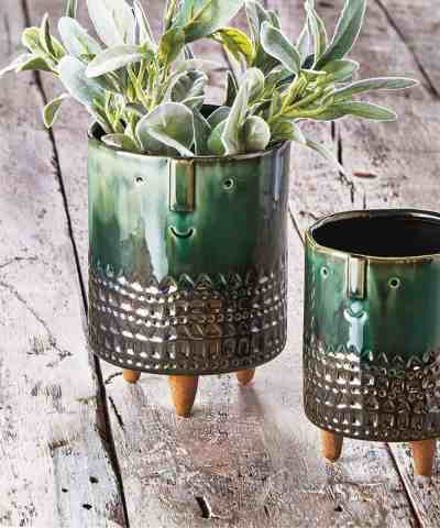 Zulily: Large Emerald Geometric Companero Planter ONLY $18.99 (Reg $28.75)