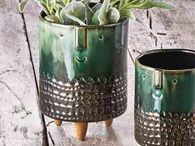 Zulily: Large Emerald Geometric Companero Planter ONLY $18.99 (Reg $28.75)