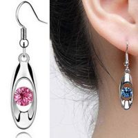 Amazon: Crystal Drop Earrings JUST $1 + FREE Shipping